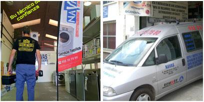Reparaciones en taller y a domicilio de electrodomésticos en Málaga